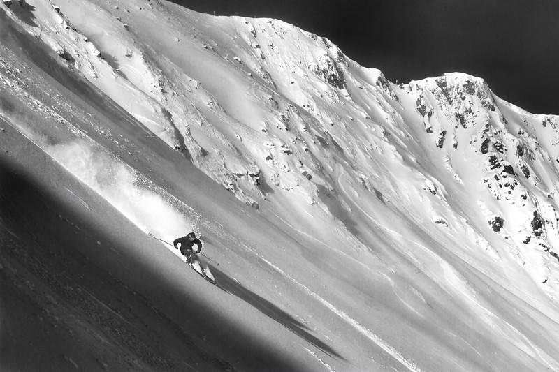 S. Adam Siltanen, Lake Louise Ski Area, whitehorn