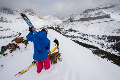 S. Alan Hogg, Lake Louise (slackcountry)