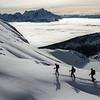 S. Adam Greenberg, Yuri Lortscher, John Acheson, Emerald Peak, Yoho National Park inversion