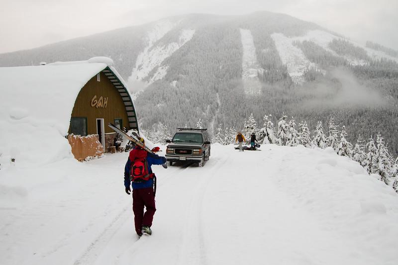 S. Adam Siltanen, Golden Alpine staging area