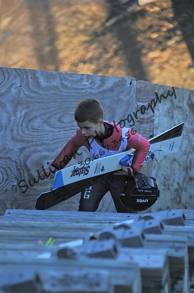 Youngsters Ski Jump