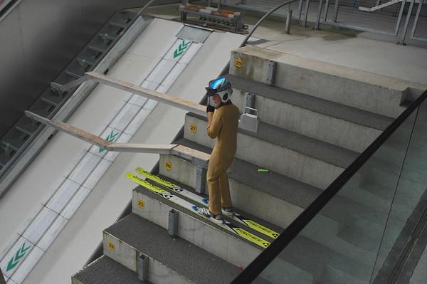Olympic Ski Jumping Hill, Innsbruck, Austria.