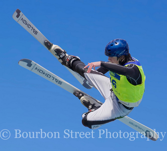Freestyle Ski Jumping at the Lake Placid Freestyle Aerial Training Center