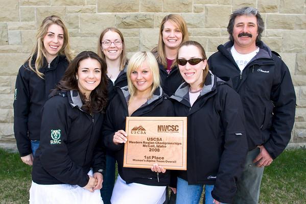 Women's Ski, Team Photos '08
