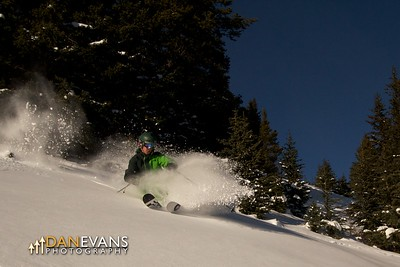 Mount Norquay powder - skier: Noah Maisonet