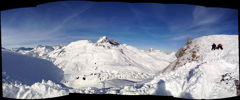 Skiën Stuben 2012