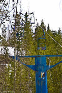 Ski Idlewild, a lost ski area not far from downtown Winter Park, Colorado. It began operation in 1961 with a blue Pomagalski (now  Poma of America) double chair with shields. In 1967 a poma lift (Platter surface lift)  was installed giving better access to the north ski runs and giving first time skiers an  easier way to access the slopes. Ski Idlewild  closed in March of 1986 after the first tower of the double chairlift had its left sheave  system supporting the downhill portion of rope failed and fell to the ground. Luckily,  according to a 1960's Pomagalski ad, the chairlift was designed to operate even after  losing this part. There were no major injuries recorded.