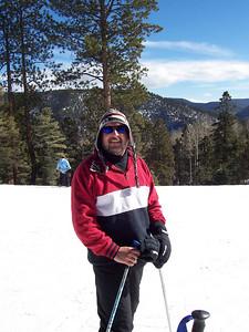Chris at the top of Sipapu.