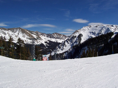 Ski Taos! Wheeler Peak (the highest in NM at 13,161) is the tall peak in the left half of the photo.