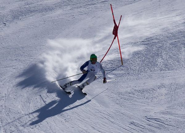 Slalom Competition, marts 2013, Madesimo Italy. Photo: Martin Bager.