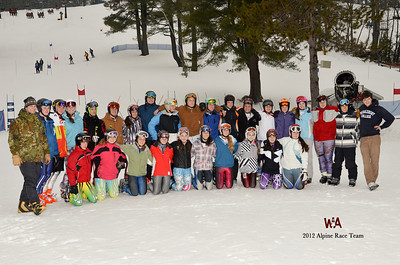 1-17-2012 - WA Apline Race Team Photo