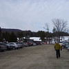 Bunny hill as viewed from the parking lot