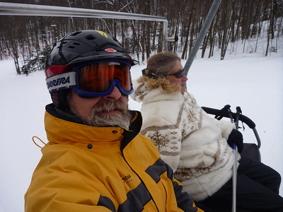 2013 Holiday Valley with Mom, Freddy & Tom