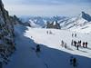 Piste gefrorener wand > 3000m (Hintertux)