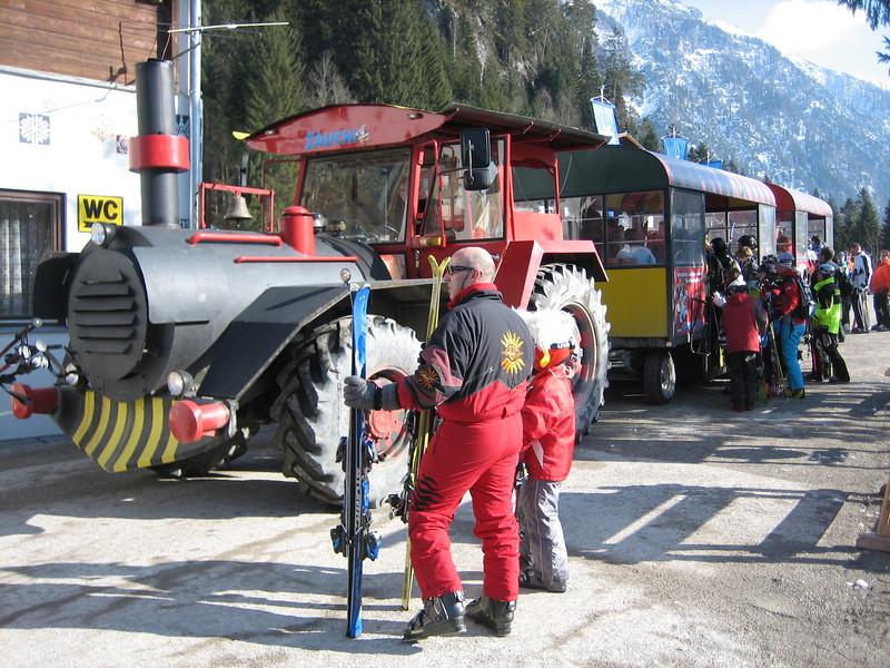 ski train (Radstadt)