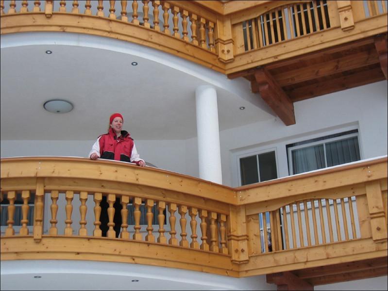 balcony and the queen (Soelden, Otztaler Alps)