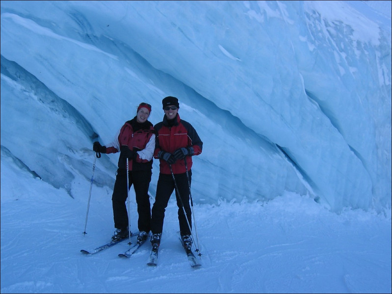 Glacier (Otztaler Alps)