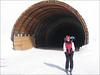 ski-tunnel (Soelden, Otztaler Alps)