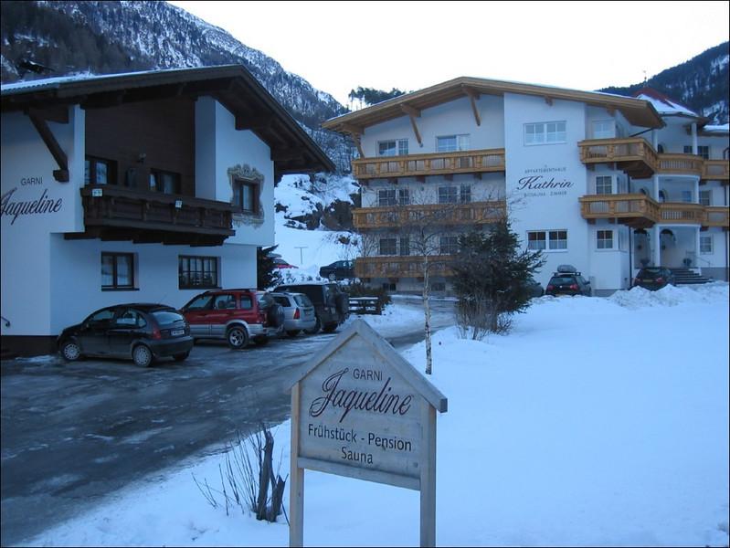 our home (Soelden, Otztaler Alps)