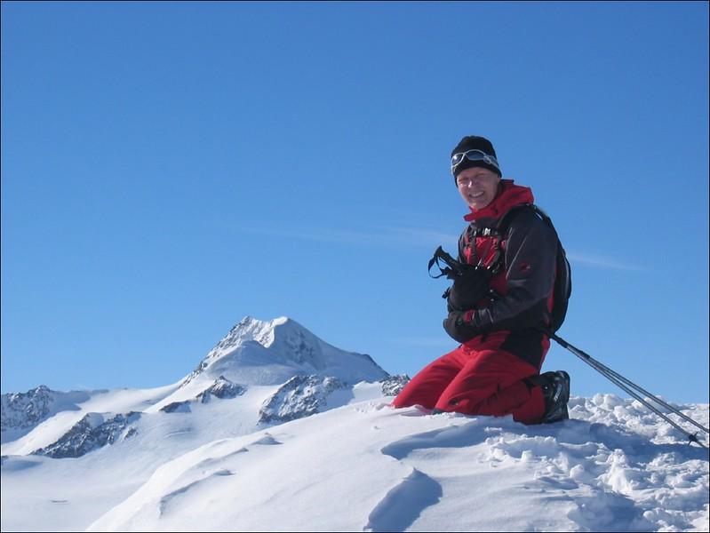 Wildspitze, highest mountain of Otztaler Alps (Otztaler Alps)