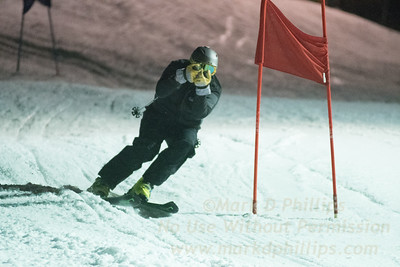 Blandford Corporate Racing on Wednesday, January 18, 2017, at Blandford Ski Area