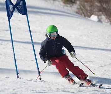 Addison Wakelin during Family Challenge Race at Blandford Ski Area on February 4, 2017