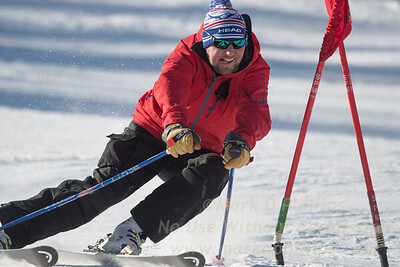 Scotty Broszka during Family Challenge Race at Blandford Ski Area on February 4, 2017