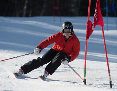 Matt Masciadrelli during Family Challenge Race at Blandford Ski Area on February 4, 2017
