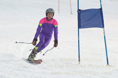 Corporate racers at Blandford Ski Area on March 9, 2016