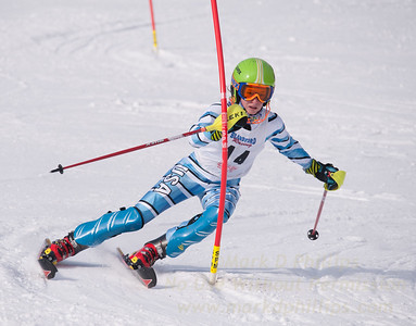 Ella King at U19 Race at Blandford Ski Area on January 30, 2016