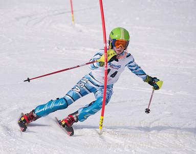 Ella King at U19 Race at Blandford Ski Area on January 30, 2016