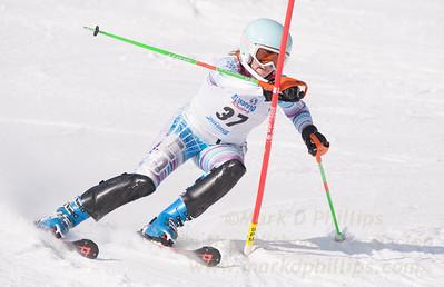Shayna Aronson at U19 Race at Blandford Ski Area on January 30, 2016