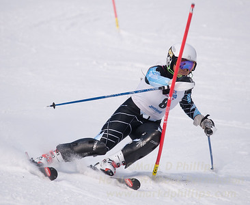 Shiau-Tau Ciecerska at U19 Race at Blandford Ski Area on January 30, 2016