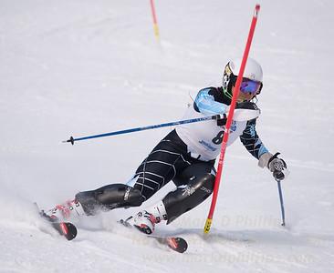 Shiau-Tau Ciecerska at U19 Race at Blandford Ski Area on January 30, 2016