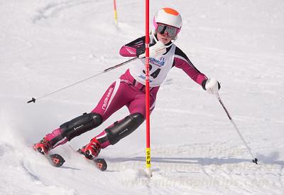 Kathryn Phair at U19 Race at Blandford Ski Area on January 30, 2016