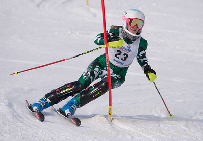 Hatch, Mackenzie at U19 Race at Blandford Ski Area on January 30, 2016