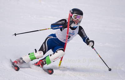 Emilie Brush at U19 Race at Blandford Ski Area on January 30, 2016