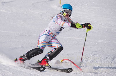 Eliza Phillips at U19 Race at Blandford Ski Area on January 30, 2016
