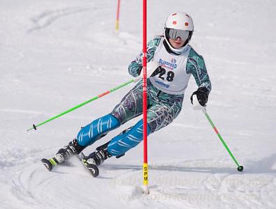 Stephens, Rebecca at U19 Race at Blandford Ski Area on January 30, 2016