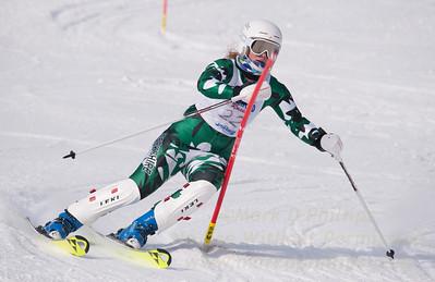 Eva Clough at U19 Race at Blandford Ski Area on January 30, 2016