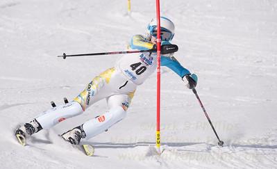 Katie Tomko at U19 Race at Blandford Ski Area on January 30, 2016
