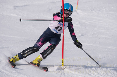 Keegan O`Connor at U19 Race at Blandford Ski Area on January 30, 2016