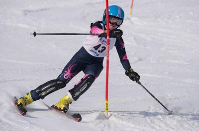 Keegan O`Connor at U19 Race at Blandford Ski Area on January 30, 2016