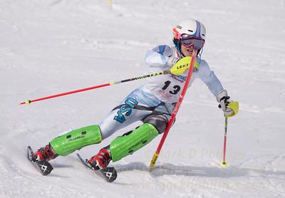 Allegra Colman at U19 Race at Blandford Ski Area on January 30, 2016