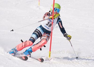 Lily Rezai at U19 Race at Blandford Ski Area on January 30, 2016