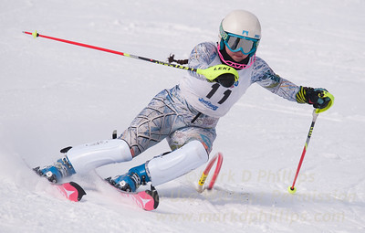 Jillian Scherpa at U19 Race at Blandford Ski Area on January 30, 2016