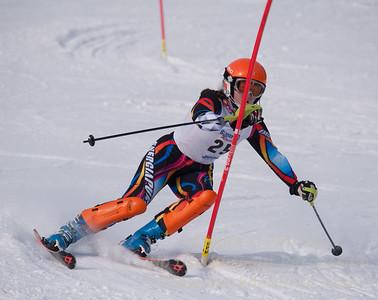 Howley, Kaitlyn at U19 Race at Blandford Ski Area on January 30, 2016