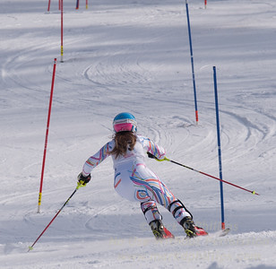 Eliza Phillips at U19 Race at Blandford Ski Area on January 30, 2016