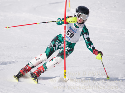 Jelleme, Sinclair  at U19 Race at Blandford Ski Area on January 30, 2016