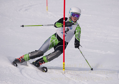 Alexandra Temple at U19 Race at Blandford Ski Area on January 30, 2016